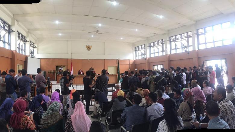 Sidang gugatan pemerintah ke PT BMH