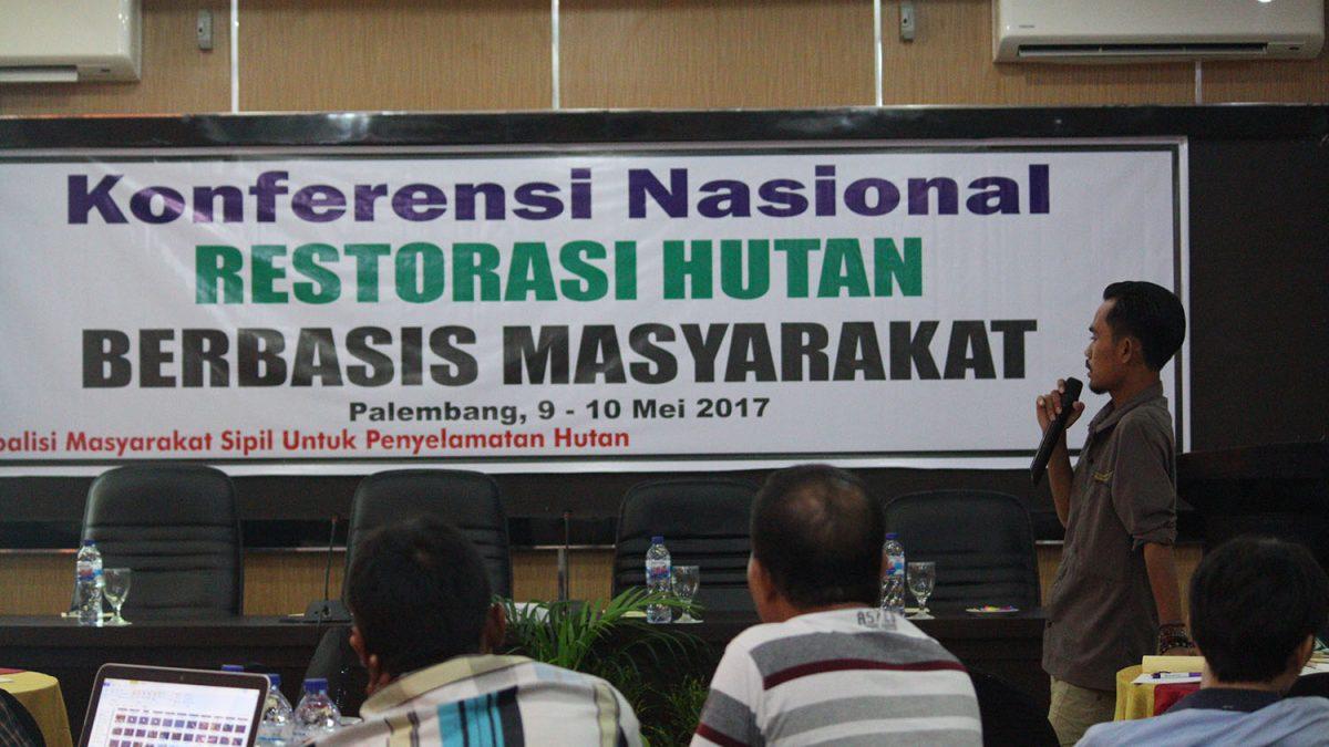 RESOLUSI CSO DAN MASYARAKAT TERKAIT AGENDA RESTORASI HUTAN